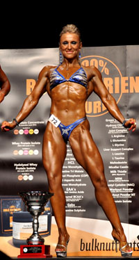 Economist, Webdesigner 2011 NABBA Figure Novice Ms Queensland 2011 NABBA Figure Novice Ms Australia